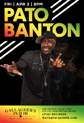 Pato Banton at Gallagher's Pub HB