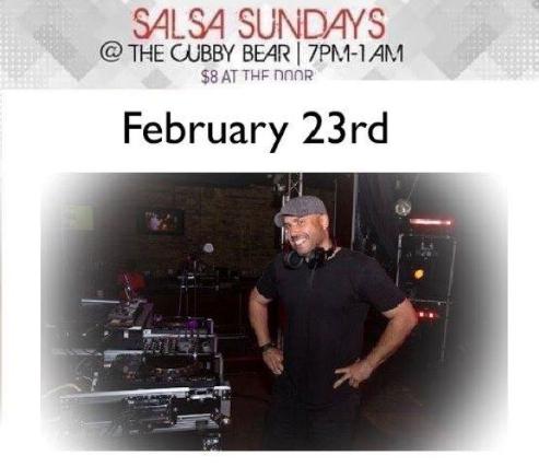 Salsa Sundays at Cubby Bear