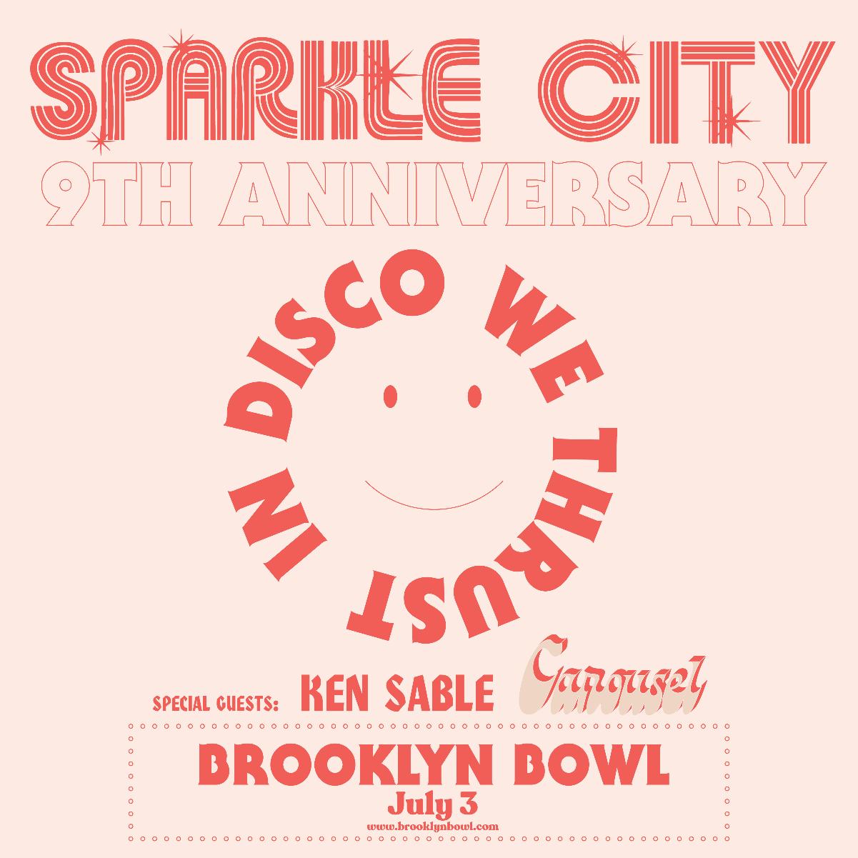 Sparkle City Disco 9th Anniversary Party