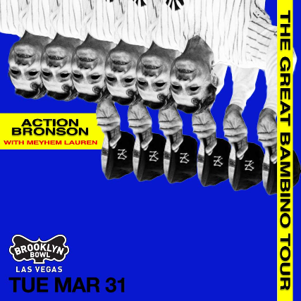 More Info for Action Bronson - The Great Bambino Tour