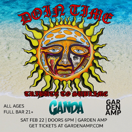 Sublime tribute Doin' Time at Garden Amp