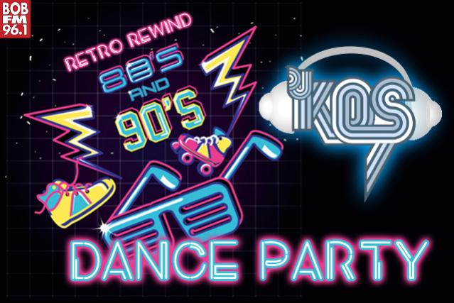 80's/90's Retro Rewind Dance Party Feat. DJ Kos