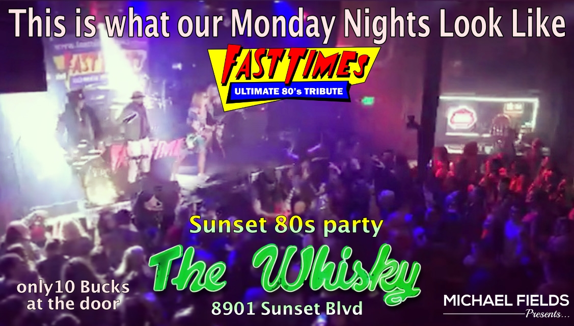 Fast Times, Guitar and Whiskey Club