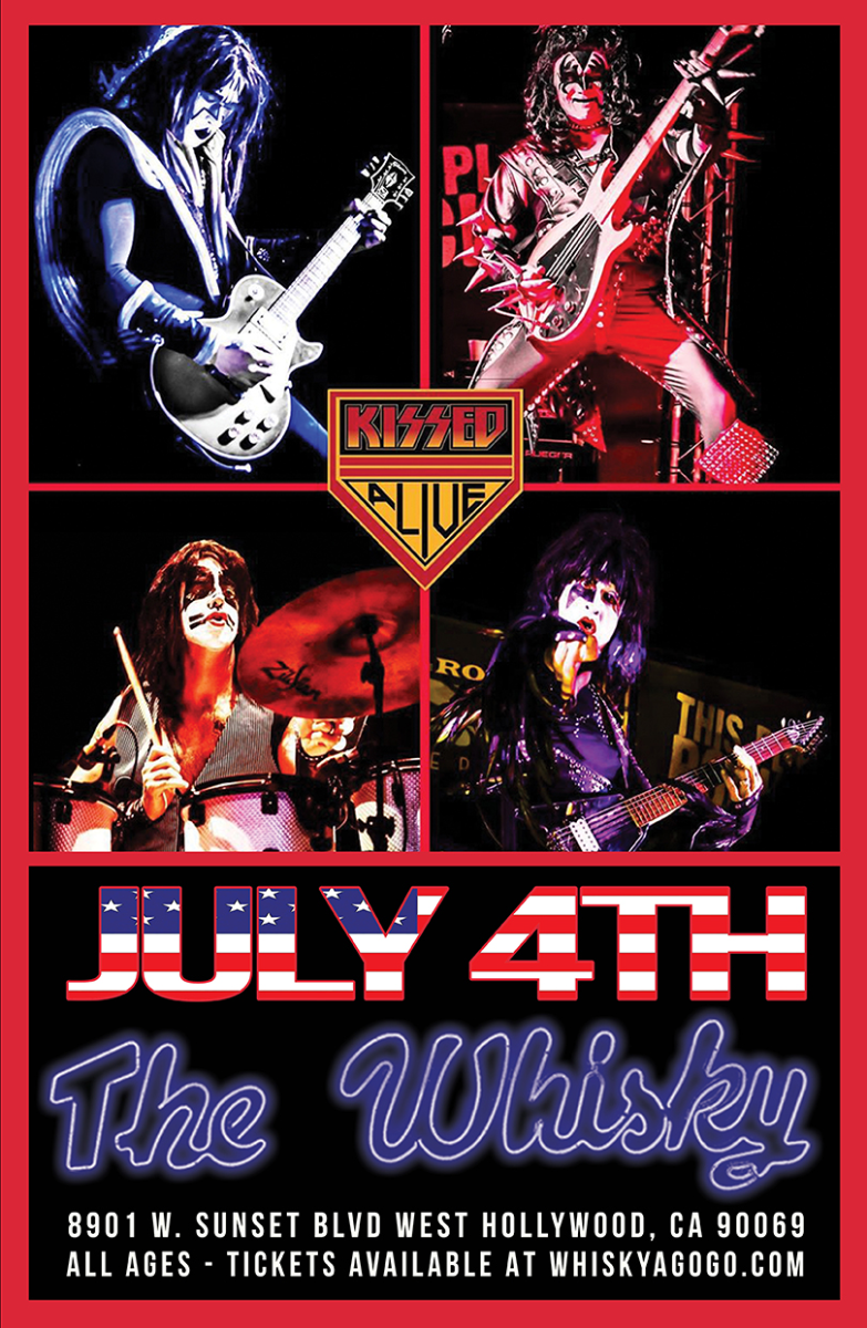KISSED ALIVE (TRIBUTE TO KISS)