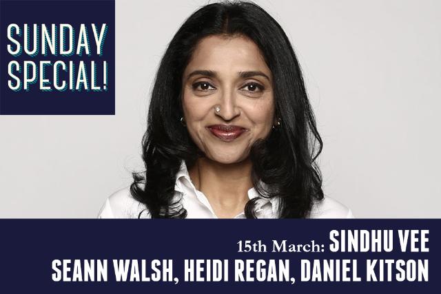 Sunday Special: Sindhu Vee Sun 15 Mar