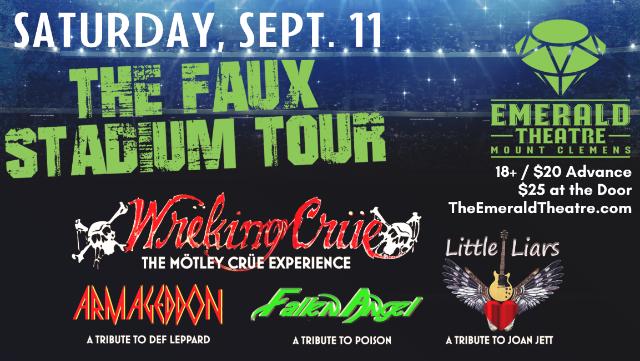 ?Wrëking Crüe's Faux Stadium Tour at Emerald Theatre