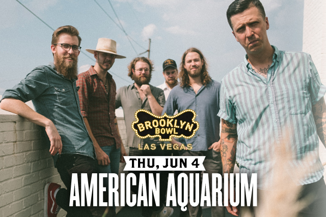 ***POSTPONED - DATE / TIME TBA *** American Aquarium