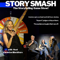 EVENT CANCELLED: Story Smash The Storytelling Game Show! It's the funniest game show in LA! w/ Christine Blackburn