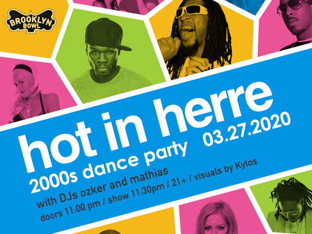 Hot in Herre: 2000's Dance Party