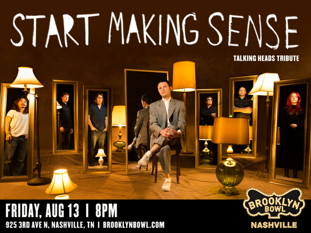 StartMakingSense: Talking Heads Tribute