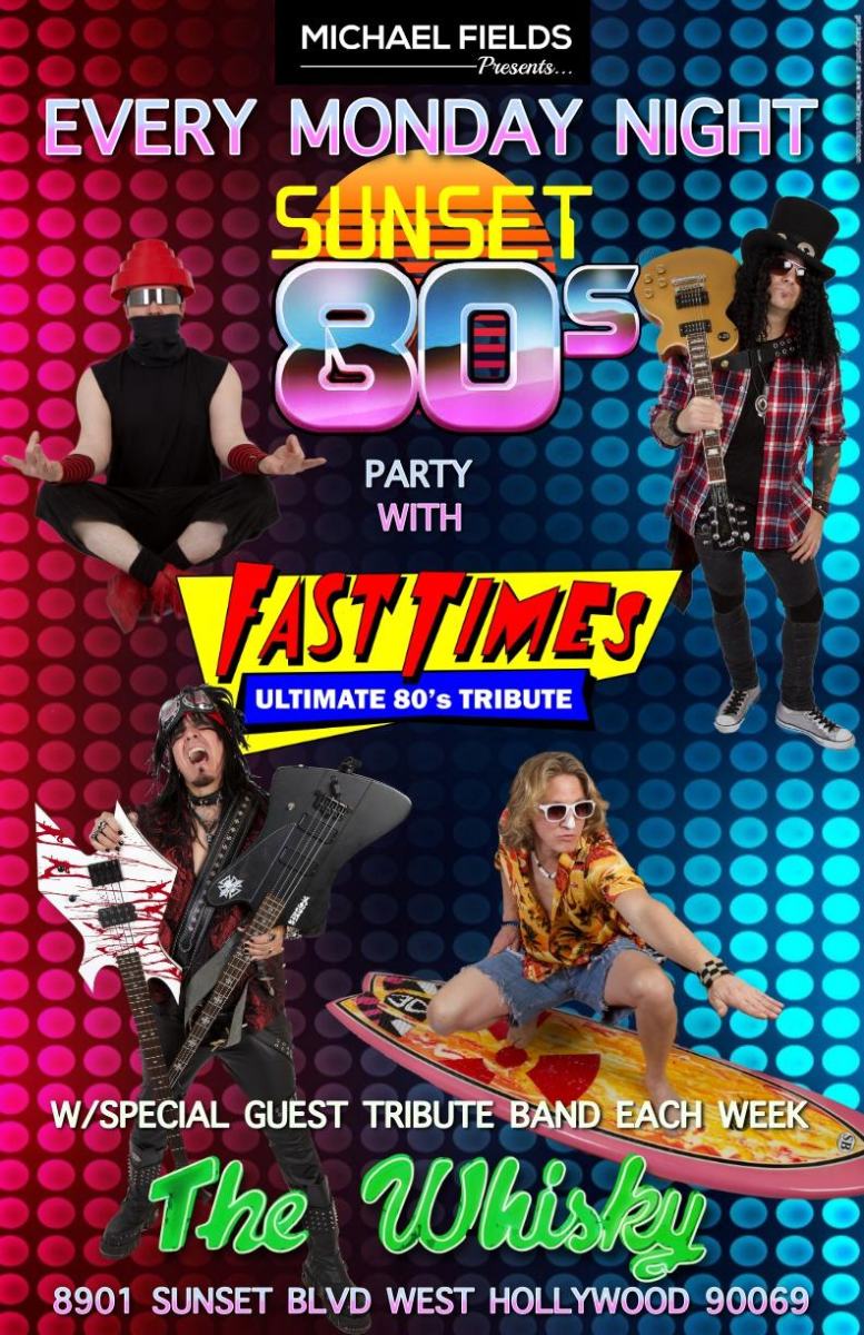 Fast Times, Urgent LA (Tribute to Foreigner)
