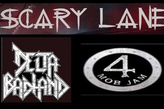4MOB Jam, Delta BAD HAND, SCARY LANE at Varsity Theatre