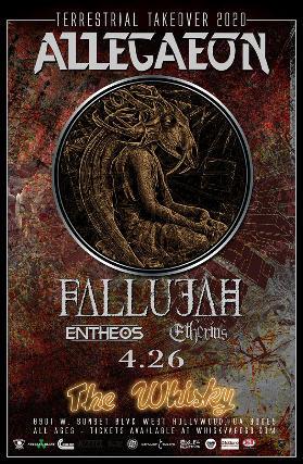 Allegaeon, Fallujah, Entheos, Etherius, Shá Nova