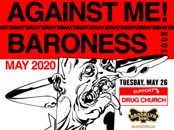 More Info for Against Me! + Baroness