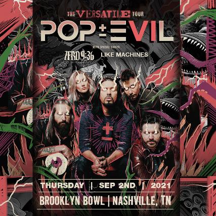 More Info for Pop Evil: The Versatile Tour