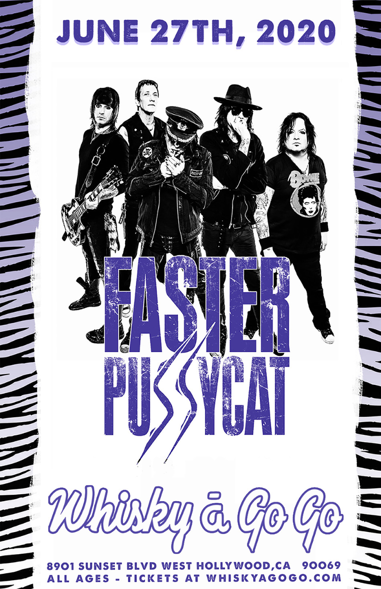 Faster Pussycat, Brittney's Rage, Velicious, Whiskey Dogz, Da Vang