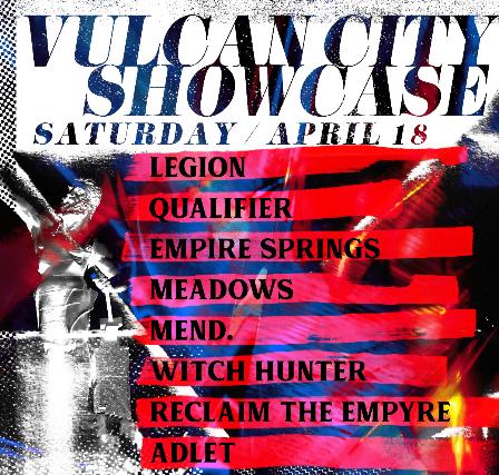 Vulcan City Showcase tickets (Copyright © Ticketmaster)