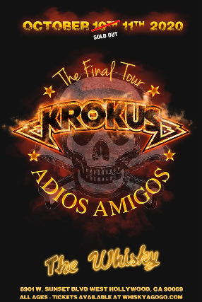 Krokus, The Hard Way, The Wrecking Crew at Whisky A Go Go