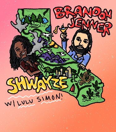 Shwayze, Brandon Jenner at The Holding Company