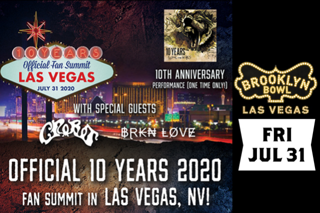 More Info for ***POSTPONED - DATE / TIME TBA *** Official 10 Years 2020 Fan Summit ft. a One Time Only 10th Anniversary Performance of Feeding the Wolves