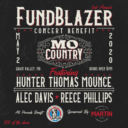 2nd Annual FIRE Boot Fund Blazer at MO Country