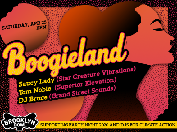 More Info for Boogieland with Saucy Lady, Tom Noble & DJ Bruce