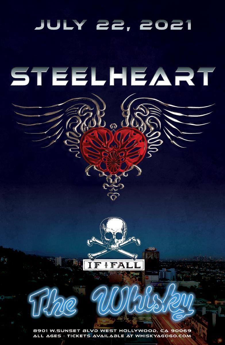 Steelheart, Wikkid Starr, If I Fall