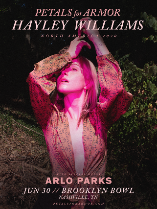 More Info for Hayley Williams – Petals For Armor Tour