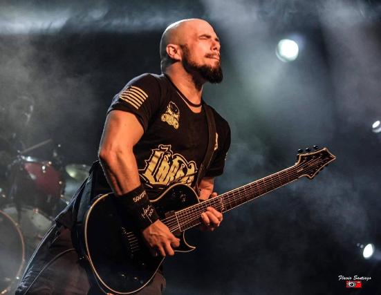 Marc Rizzo of Soulfly at Shovelhead Live
