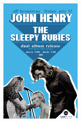 Copyright © Ticketmaster | John Henry & The Sleepy Rubies Dual EP Release Show tickets