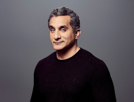 EVENT CANCELLED Bassem Youssef: Late For Democracy