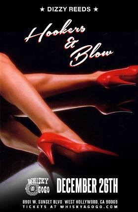 Hookers & Blow featuring Dizzy Reed of Guns N' Roses