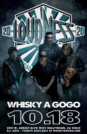 Loudness, Hammered at Whisky A Go Go