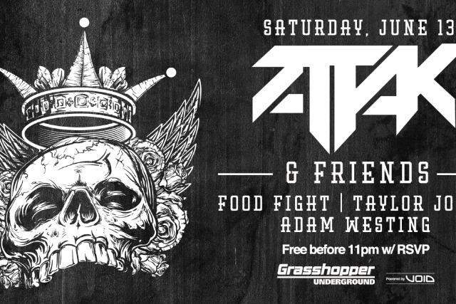 Attak and Friends at The Grasshopper Underground