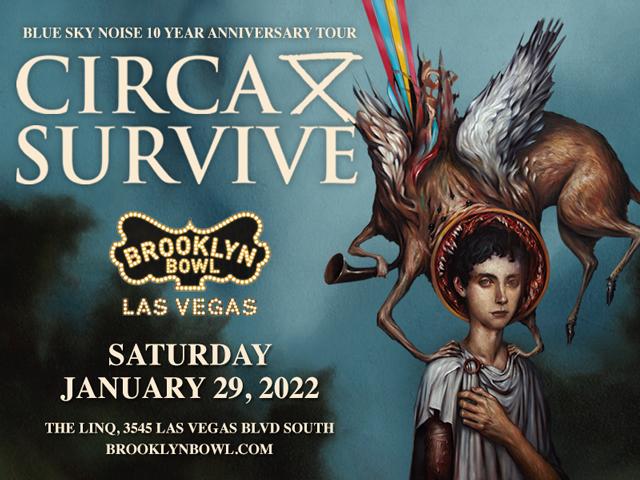 Circa Survive: Blue Sky Noise Anniversary Tour