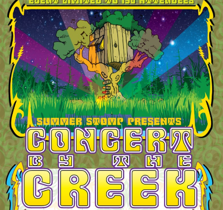 Concert By The Creek Saturday at Mackey's Hideout