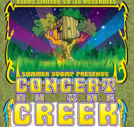 Concert By The Creek Sunday at Mackey's Hideout