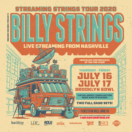 More Info for Billy Strings Live Streaming from Nashville