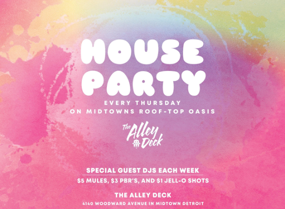 House Party - Thursdays on The Alley Deck