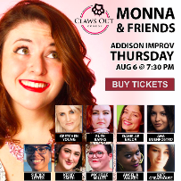 Claws Out Comedy with Monna & Friends