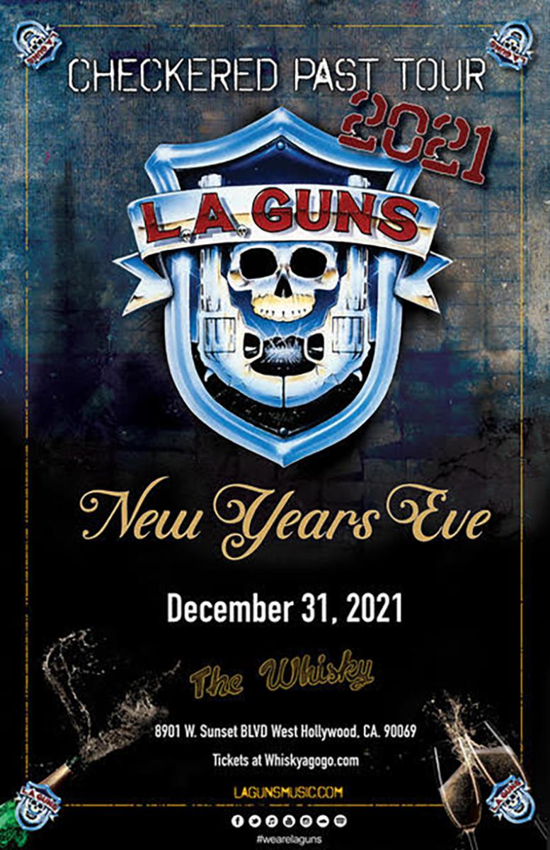 L.A. Guns, Tennessee Werewolves, Taz Taylor Band, BADGVY , Cardboard Ringo, Bonnie Brae, White Rabbit