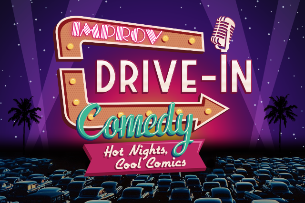 Improv Live Comedy Drive In: Hot Nights, Cool Comics featuring Mitch Burrow, Jackie Fabulous, Matt Braunger, Orlando Leyba, Joel Kim Booster & Pete Lee