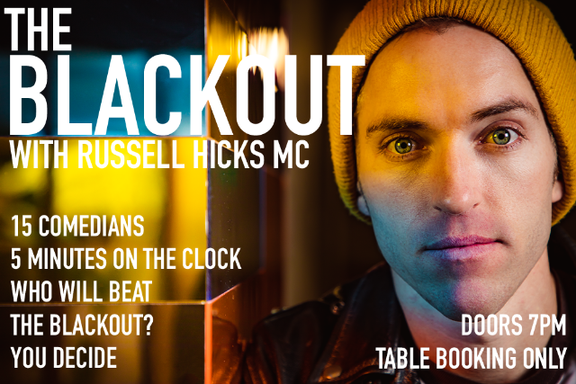 The Blackout Thu 15 Oct