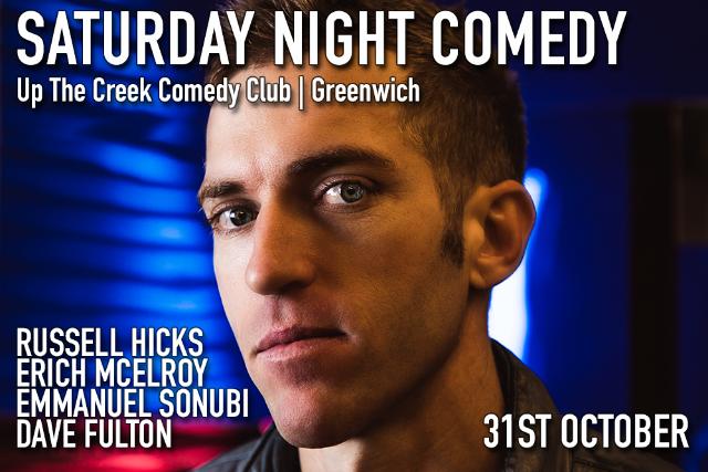 Saturday Night Comedy Sat 26 Sep