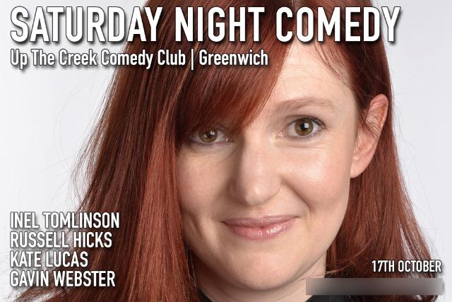 Saturday Night Comedy Sat 17 Oct