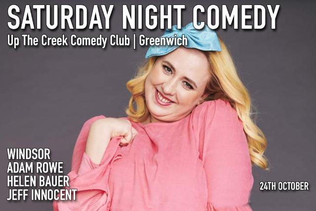 Saturday Night Comedy Sat 24 Oct
