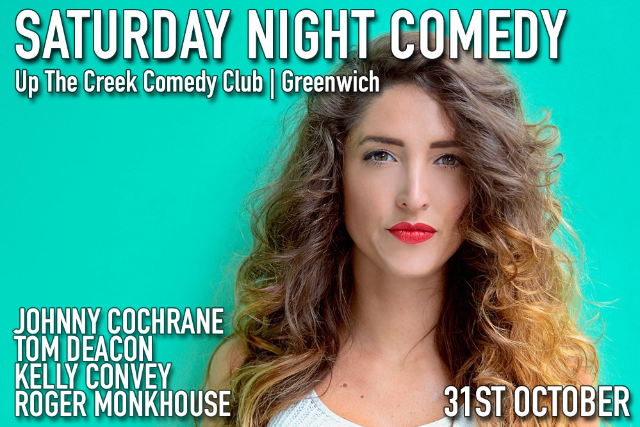 Saturday Night Comedy Sat 31 Oct