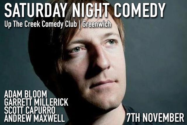 Saturday Night Comedy Sat 07 Nov