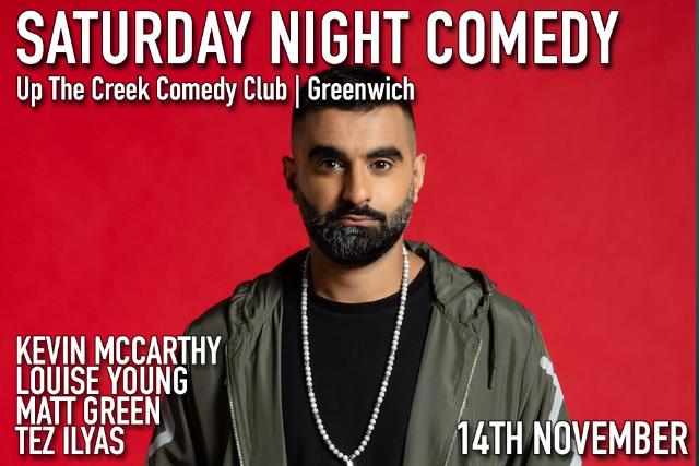 Saturday Night Comedy Sat 14 Nov