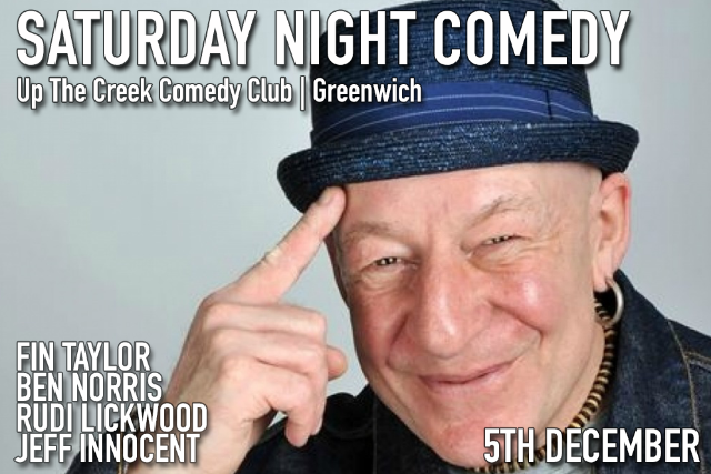 Saturday Night Comedy Sat 05 Dec